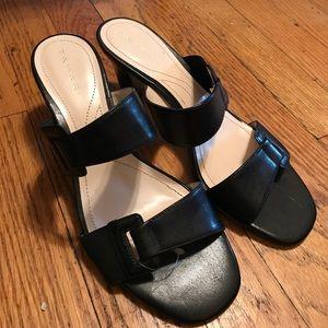 Black heels (sandals)